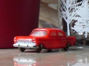 【送料無料】模型車 モデルカー スポーツカー レゴモデルカーフォードヘッドランプlego modellauto 187 ford taunus 17 m de luxe rot,originalscheinwerfer h0
