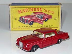 【送料無料】模型車 53 モデルカー スポーツカー mercedes マッチベンツクーペw matchbox モデルカー lesney mercedes benz coupe 53, KOMEHYO JEWELRY BAZAAR:7e748dbe --- sunward.msk.ru