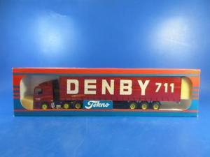 【送料無料】模型車 モデルカー スポーツカー イギリスコレクションtekno the british collection nr49 daf denby artic, 150, mib