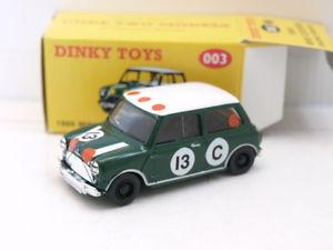 【送料無料】模型車 モデルカー スポーツカー マッチミニクーパーレーシングコードmatchbox dinky 003 1966 mini cooper racing,1 of 1500,code 2
