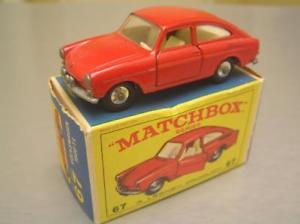 【送料無料】模型車 モデルカー スポーツカー マッチホイール#イングランドneues angebotmatchbox regular wheels 67 vw vollswagen 1600 tl made in england nmib