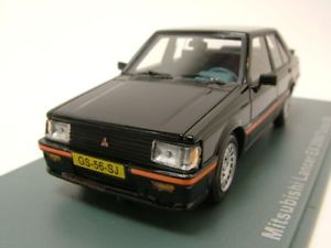 【送料無料】模型車 モデルカー スポーツカー ランサーターボブラックモデルカースケールモデルmitsubishi lancer ex 2000 turbo 1981 schwarz, modellauto 143 neo scale models