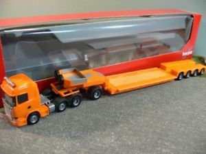 【送料無料】模型車 モデルカー スポーツカー スカニア×トターオレンジペンデュラム187 herpa scania r 13 hl 6x2 pendelx sattelzug orange 306515