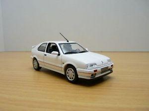【送料無料】模型車 モデルカー スポーツカー ルノーフェーズrenault r19 16s phase 1 blanche 143 r 19