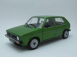 【送料無料】模型車 モデルカー スポーツカー ゴルフメタリックグリーンモデルカーvw golf 1 l 1983 grn metallic, modellauto 118 solido