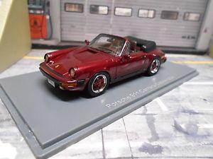 【送料無料】模型車 モデルカー スポーツカー ポルシェカレラカブリオレアメリカレッドレッドモデルネオporsche 911 carrera 32 cabrio usa rot red met g modell neo resine 143