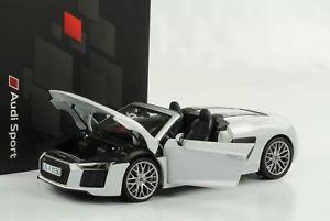 【送料無料】模型車 モデルカー スポーツカー dealer アウディスパイダーホワイトダイカストディーラーaudi r8 スポーツカー v10 118 spyder weiss diecast 118 iscale dealer, ambiance:3c9467ca --- sunward.msk.ru