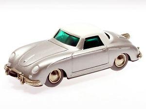 【送料無料】模型車 モデルカー スポーツカー マイクロレーサーポルシェlilliput microracer porsche 356 silber weies dach