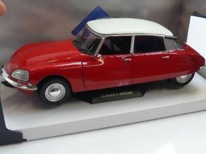 【送料無料】模型車 モデルカー スポーツカー シトロエン118 solido citron ds special rot 1972 s1800702