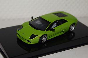 【送料無料】模型車 モデルカー スポーツカー ランボルギーニムルシエラゴメタリックlamborghini murcielago grn metallic 143 autoart neu amp; ovp 54514