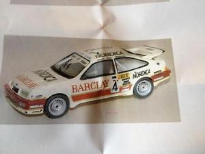 【送料無料】模型車 モデルカー スポーツカー フォードシエラコスワースウルフレーシングバークレースパレジンキットjemmpy 363 ford sierra cosworth wolf racing barclay 24h spa 1987 143 resin kit