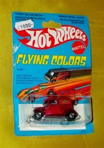 【送料無料】模型車 モデルカー スポーツカー ホットホイールビンテージダイカストhot wheels vintage flying colors aok ref2016 diecast 70