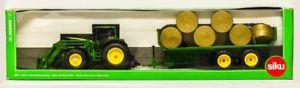 【送料無料】模型車 モデルカー スポーツカー ファーマージョンディアラウンドベールトレーラーsiku farmer 3862 john deere 6920 mit rundballenanhnger ovp 0361999