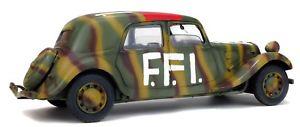 【送料無料】模型車 モデルカー スポーツカー 1944 シトロエントションミニチュアコレクションcitroen traction 11 cv cv ffi solido1800902 1944 voiture miniature 118 collection solido1800902, 出水郡:986c09f9 --- sunward.msk.ru