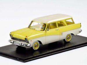 【送料無料】模型車 モデルカー スポーツカー ネオフォードneo ford p2 turnier 1957 yellowwhite 143 44551