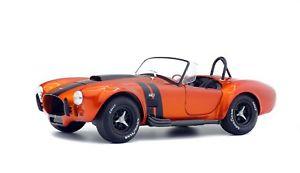 【送料無料】模型車 モデルカー スポーツカー コブラミニチュアコレクションac cobra 427 mkii 1965 voiture miniature 118 collection solido 1850016