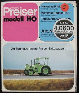 【送料無料】模型車 モデルカー スポーツカー トターレールカラーホワイトpreiser 40600 hanomag traktor r 45 rampe figur farbe wei 187