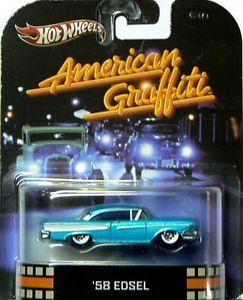 【送料無料】模型車 モデルカー スポーツカー ホットホイールスケールレトロモデルアメリカングラフィティ hot wheels 164 scale retro car models the 58 edsel american graffiti