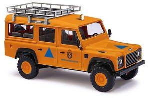 【送料無料】模型車 モデルカー スポーツカー ブッシュランドローバーディフェンダーホbusch 50364 land rover defender katastrophenschutz ho 187 neu