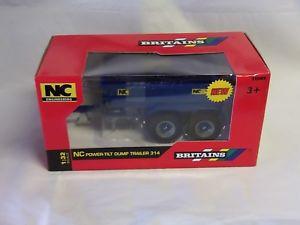 【送料無料】模型車 モデルカー スポーツカー パワーチルトダンプトレーラーブランドbritains nc 314 power tilt dump trailer 43182 132 brand
