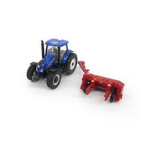 【送料無料】模型車 モデルカー スポーツカー  holland t6175 tractor and h7230 moco diecast 164 scale ertl 13896