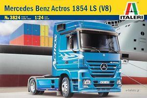 【送料無料】模型車 モデルカー スポーツカー モデルキットメルセデスベンツアクトロストラックitaleri 3824 model kit 124 mercedes benz actros 1854 ls v8 camion tir