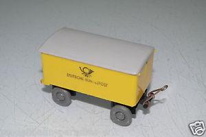 【送料無料】模型車 モデルカー スポーツカー バイキングポストトレーラートラックwiking 187 anhnger zum postlkw deutsche bundespost ohne ovpeh4465