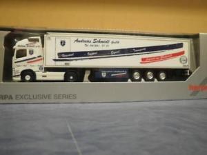 【送料無料】模型車 モデルカー スポーツカー トラックボルボアンドレアスシュミットherpa lkw volvo fh4 globaerop xl khlksz andreas schmidt 932035