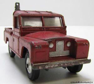 【送料無料】模型車 モデルカー スポーツカー コーギーランドローバートラックスケールcorgi toys 477 land rover abschleppwagen rot 109 wb mastab 143