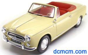 【送料無料】模型車 モデルカー スポーツカー プジョー118 peugeot 403 1957 solido