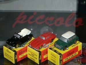 【送料無料】模型車 モデルカー スポーツカー ピッコロセットschuco piccolo geschenk set iii age 50123800