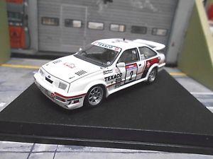 【送料無料】模型車 モデルカー スポーツカー フォードシエラコスワースツールドコルスラリーテキサコford sierra rs cosworth rallye tour de corse 1987 blomqvist texaco trofeu 143