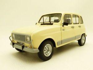 【送料無料】模型車 モデルカー スポーツカー ルノーベージュrenault 4 l r4 4l gtl clan beige 118
