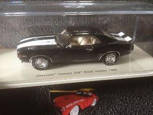 【送料無料】模型車 モデルカー スポーツカー スパークシボレーカマロバージョンスケールspark s2611 1969 chevrolet camaro z28 road version 143 resin scale modelcar