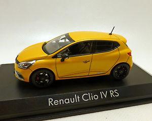 【送料無料 rs,】模型車 clio モデルカー スポーツカー ルノークリオイエローメタリックrenault モデルカー clio iv rs, gelbmetallic, norev 143, ジンセキコウゲンチョウ:80d2356c --- sunward.msk.ru