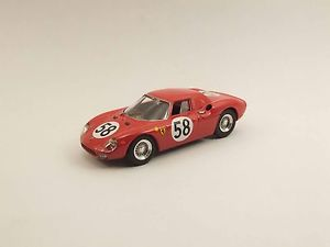 【送料無料】模型車 モデルカー スポーツカー フェラーリルマンパイパーリントベストferrari 275 lm 24h le mans 1964 piperrindt best 9478