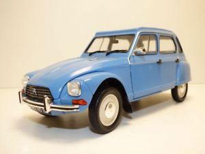 【送料無料】模型車 モデルカー スポーツカー シトロエンcitroen dyane 6 bleu myosotis 118 2cv