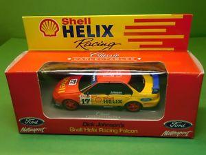 【送料無料】模型車 モデルカー スポーツカー フォードファルコンクラシックカールディックジョンソンシェルレーシング#