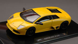 【送料無料】模型車 モデルカー スポーツカー ランボルギーニメタリックイエローエリートコレクションlamborghini murcielago lp640 2006 metallic yellow elite collection 143 wp9942