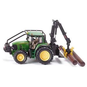 【送料無料】模型車 モデルカー スポーツカー ジョンディアsiku siku4063 tracteur forestier john deere 132