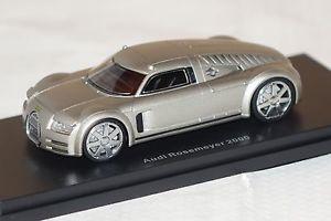 【送料無料】模型車 モデルカー スポーツカー アウディシルバーボスaudi rosemeyer 2000 silber 143 bos 43460 neu amp; ovp