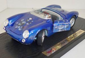 【送料無料】模型車 モデルカー スポーツカー ポルシェスパイダーモデルmaisto 50314 761512 porsche 550 a spyder limitiertes modell 53200 ovp 118