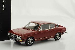 【送料無料】模型車 モデルカー スポーツカー クーペアウディスケールaudi 100 coupe s 1970 rot 118 kk scale resin neu