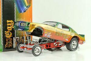 【送料無料】模型車 モデルカー スポーツカー ポンティアックドンロンゲイ1970 pontiac firebird don ron gay hotrod dragster funny car 118 auto world ertl