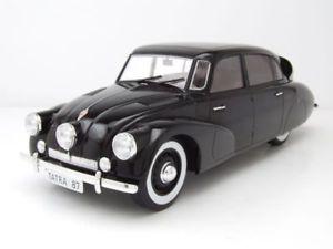 【送料無料】模型車 モデルカー スポーツカー タトラブラックモデルカーtatra 87 1937 schwarz, modellauto 118 mcg