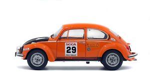 【送料無料】模型車 モデルカー スポーツカー フォルクスワーゲンビートルラリーミニチュアコレクションvolkswagen beetlecoccinelle rally scca 1980 voiture miniature 118 collection