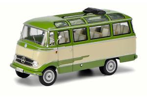 【送料無料】模型車 モデルカー スポーツカー メルセデスベンツバスベージュグリーンschuco 02917 143 mercedesbenz o319 bus beigegrn neu