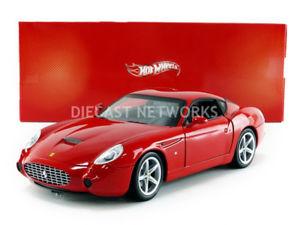 【送料無料】模型車 モデルカー スポーツカー フェラーリhotwheels mattel 118 ferrari 575 gtz by zagato p9887