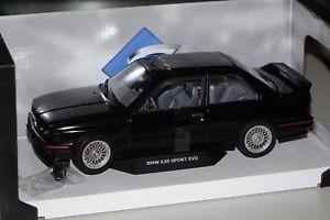 【送料無料】模型車 モデルカー スポーツカー スポーツbmw m3 e30 sport evo 1990 schwarz 118 solido 118438 neu amp; ovp