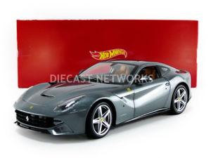 【送料無料】模型車 モデルカー スポーツカー フェラーリhotwheels mattel 118 ferrari f12 berlinetta bcj74